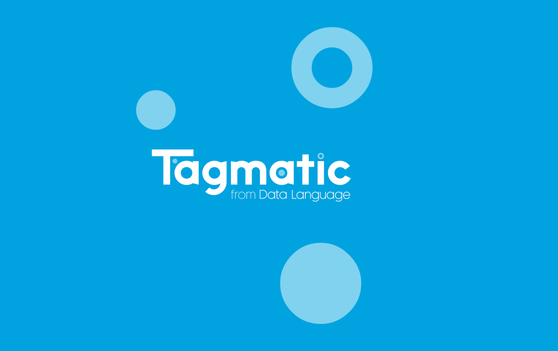 Introducing Tagmatic