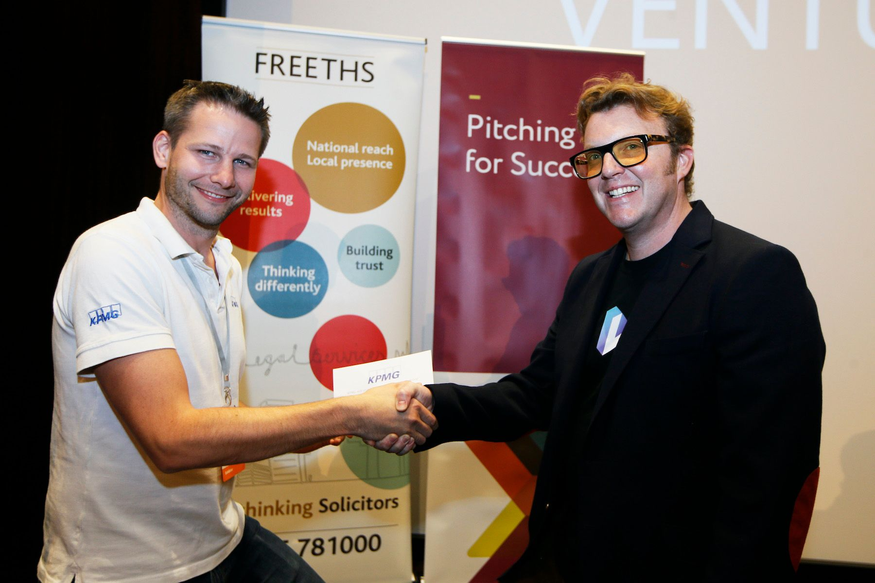 Luminery wins KPMG Prize at VentureFest