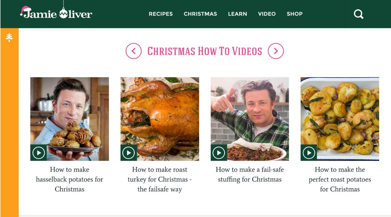 Jamie Oliver uses Data Moments