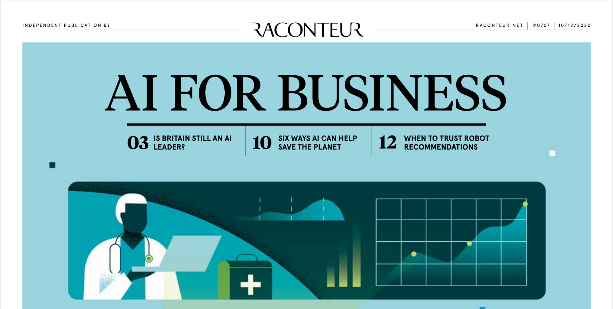 "The Times ""AI for Business"" Supplement"