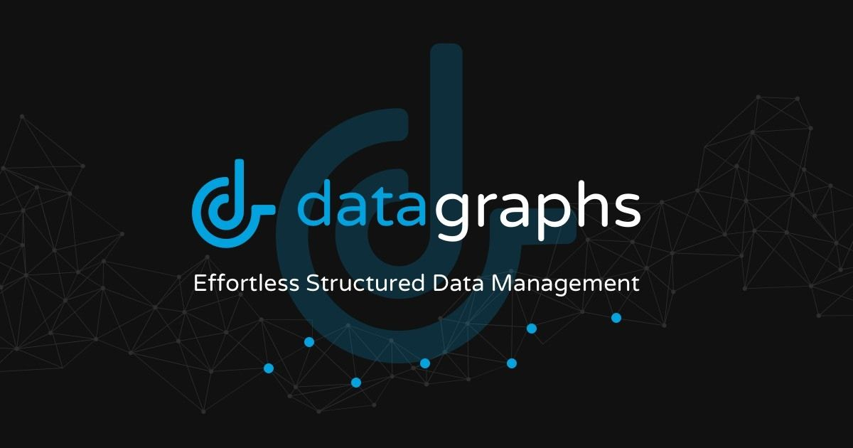 Data Graphs - Fully Managed Knowledge Graphs